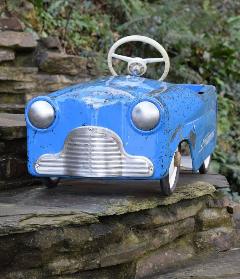 "British Triang ""Lightening"" 1950s Child's Pedal Car For"