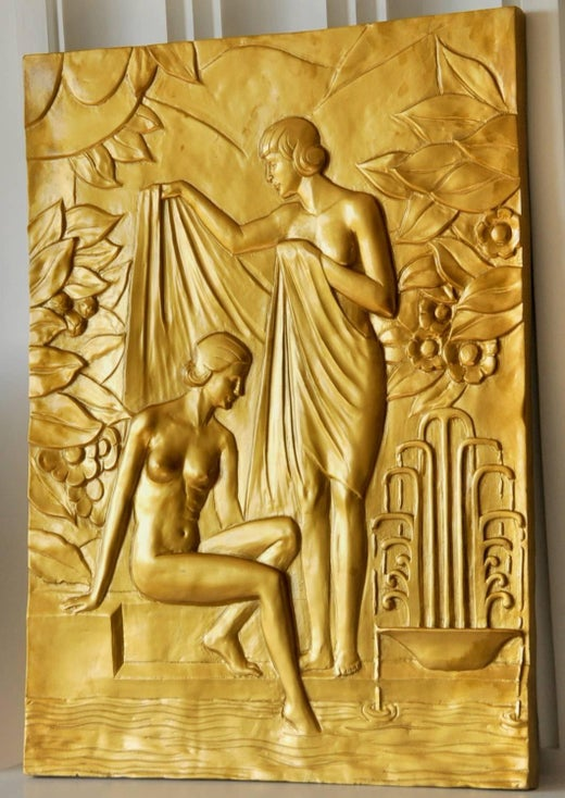 Contemporary Art Deco Wall Panels Component - Wall Art and Decor ...
