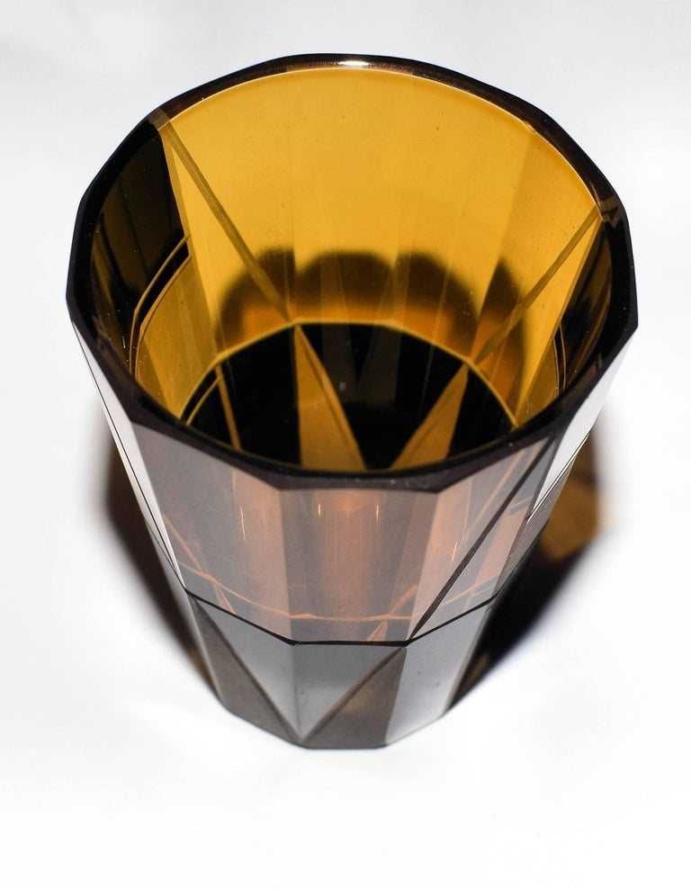 1930s Art Deco Glass Decanter Set For Sale 1