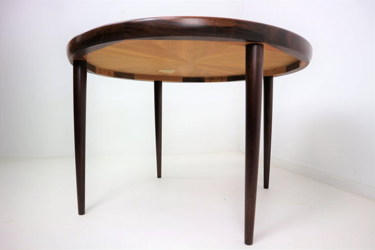 Rosewood Danish Design Coffee Table 1970s At 1stdibs