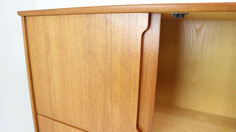 scandinavian kitchen cabinets highboard model fredericia by royal board 1960s set of 2113
