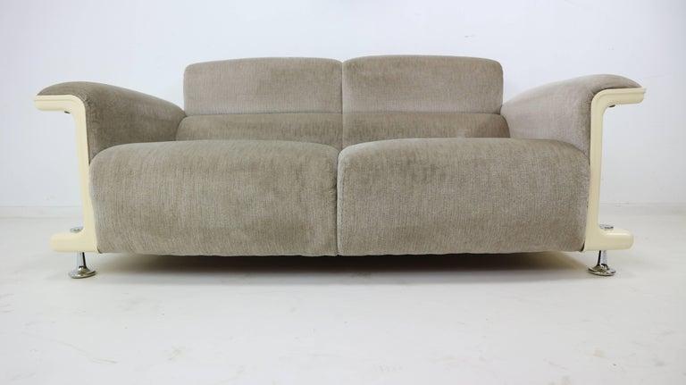 gerd lange for 39 t spectrum bz28 two seat sofa 1970 for. Black Bedroom Furniture Sets. Home Design Ideas