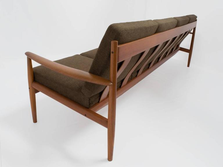 midcentury sofa by grete jalk sofa long 4seat in teak for france
