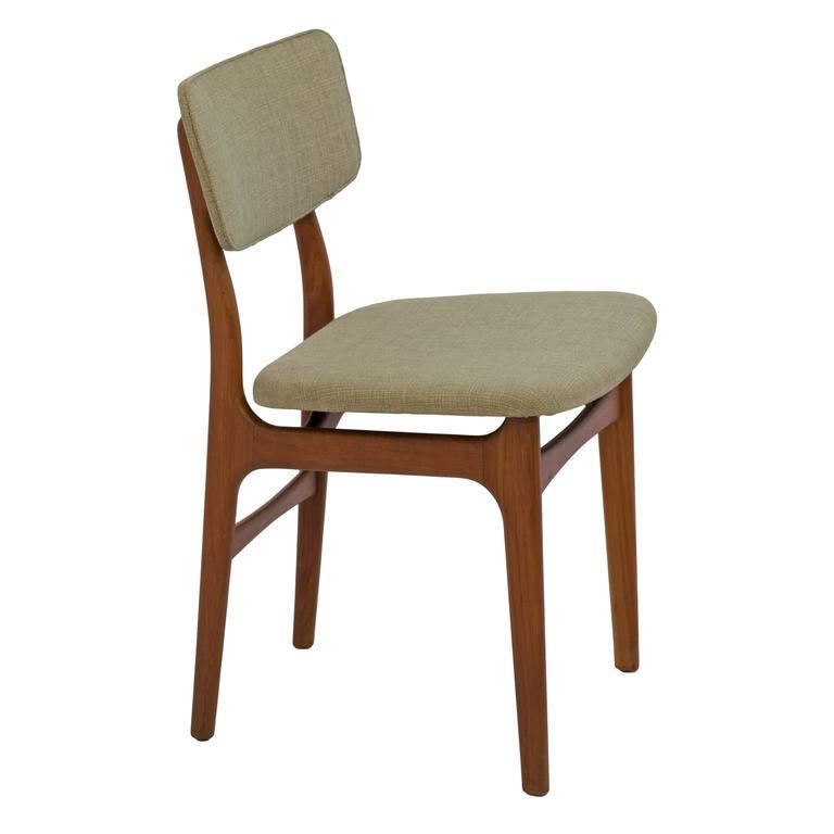 Mid Century Danish Dining Chairs Teak Set Of Eight Gustav Bertelsen At
