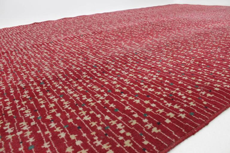 Carpet Rug Czechoslovakia 1950s In Style Of Antonin