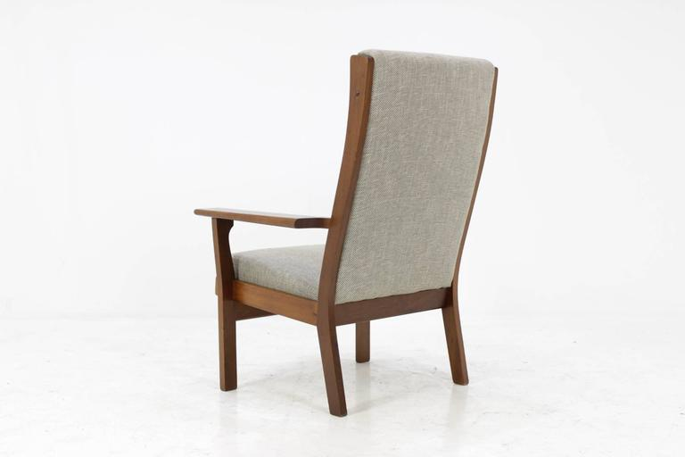 Exceptionnel Mid Century Modern Vintage GE181A High Back Easy Chair By Hans Wegner For  GETAMA For