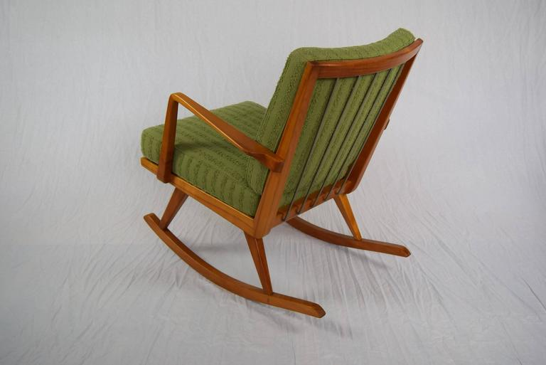 Easy rocking chair no pk 22 39 by walter knoll for antimott for sale at 1stdibs - Knoll rocking chair ...