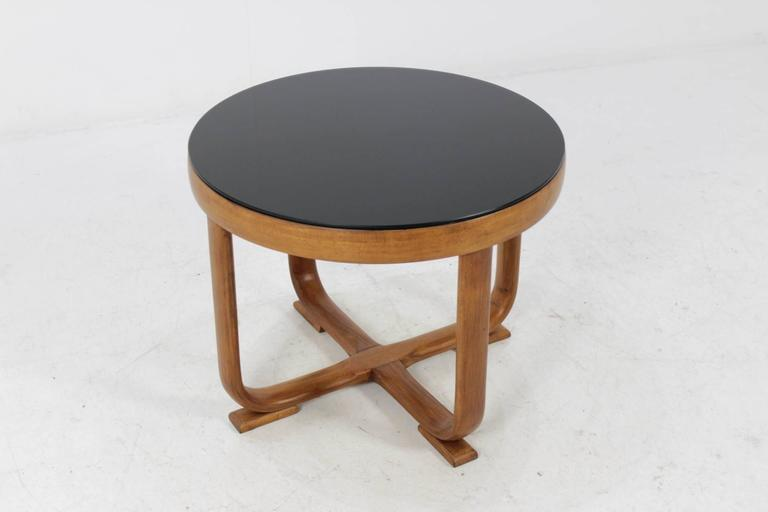 1940s Art Deco Beech Bentwood Coffee Table For Sale At 1stdibs