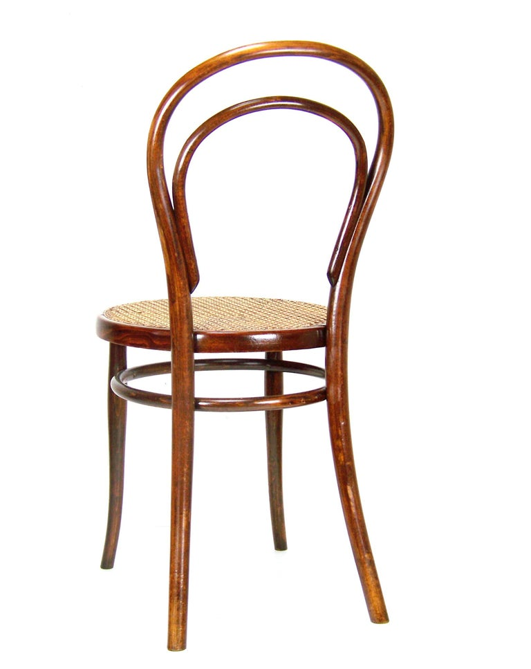 Viennese Bentwood Chair Thonet Nr 14 Circa 1887 1910 For 4