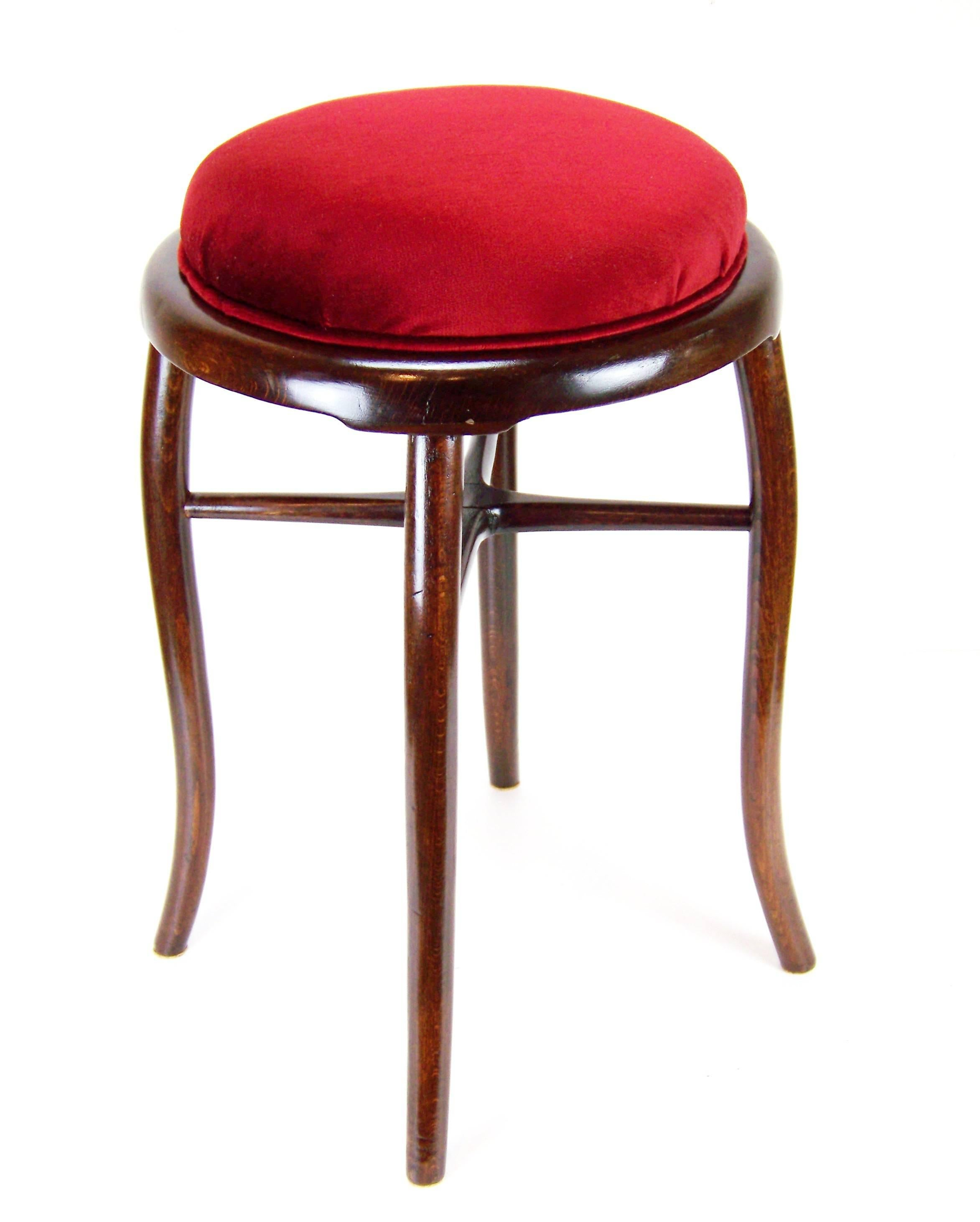 Benches & Stools Expressive Vintage Retro Foot Stool Ottoman Mid Century Crease-Resistance