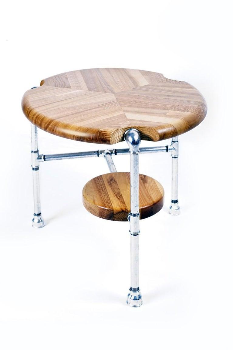 Tubular table by the winner of Designblok Prague International Design Festival 2015 Petr Lehky.