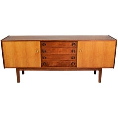 Vintage Oak Sideboard in Danish Style, 1970s