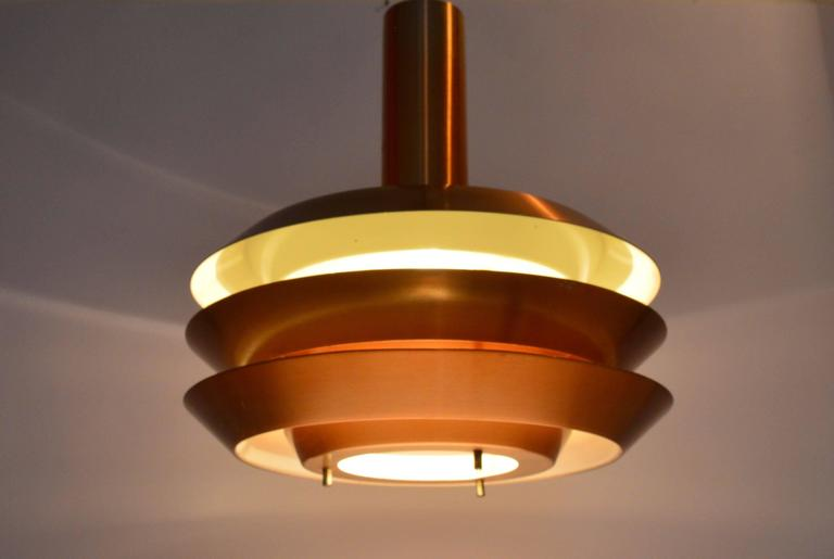Danish mid century ceiling lamp 1970s for sale at 1stdibs for Mid century ceiling lamp