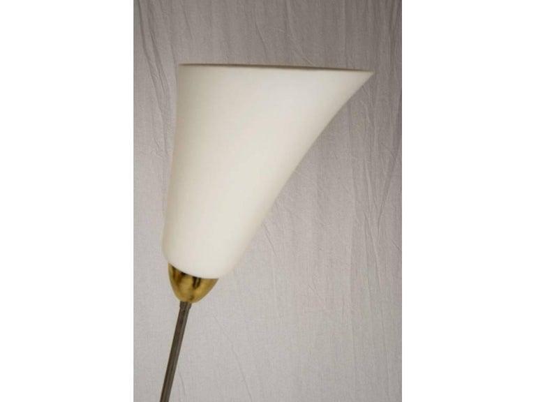 Mid-20th Century Midcentury Lamp by Kamenický Šenov Czechoslovakia, the 1950s For Sale