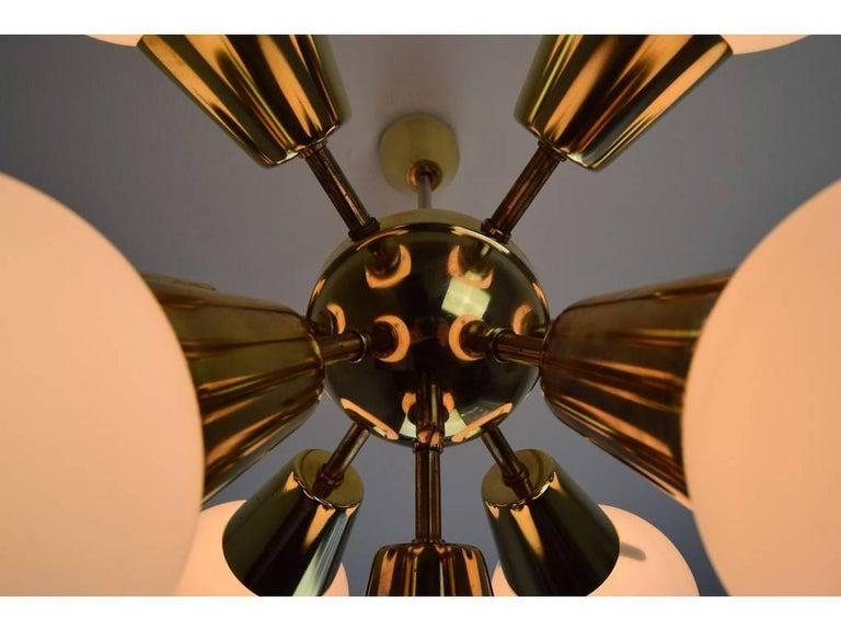 'Sputnik' Chandelier by Kamenický Šenov, 1960s 2