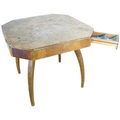 Gaming Table H-278, Ing, Arch, Jindrich Halabala, circa 1950