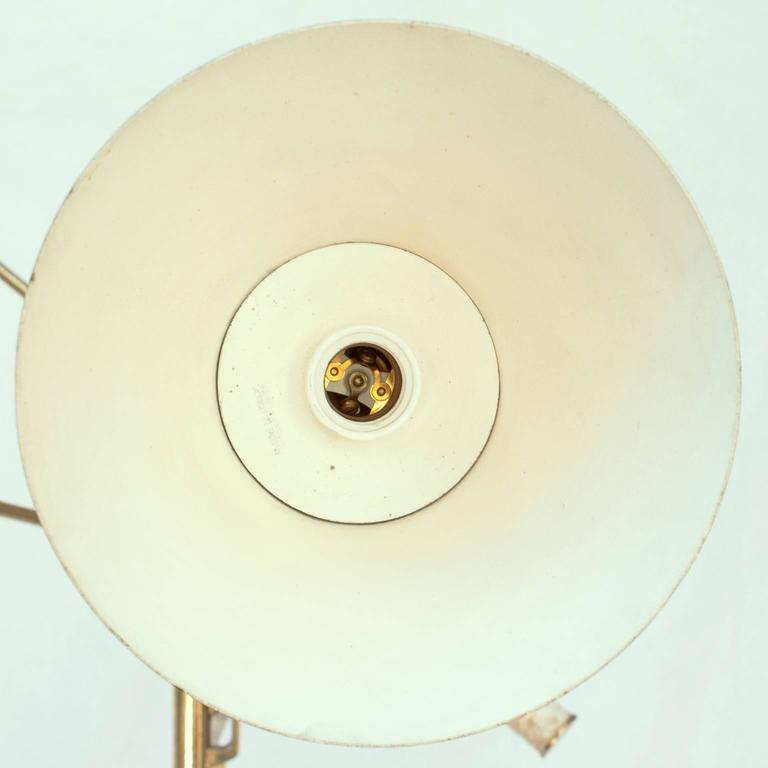 Lacquered Angelo Lelii, Triennale Floor Lamp, Arredoluce, 1947 For Sale