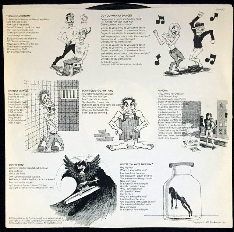 Original The Ramones Rocket To Russia Vinyl Record At 1stdibs