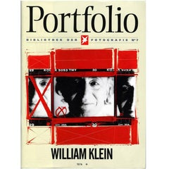 William Klein Portfolio Magazine (photography)