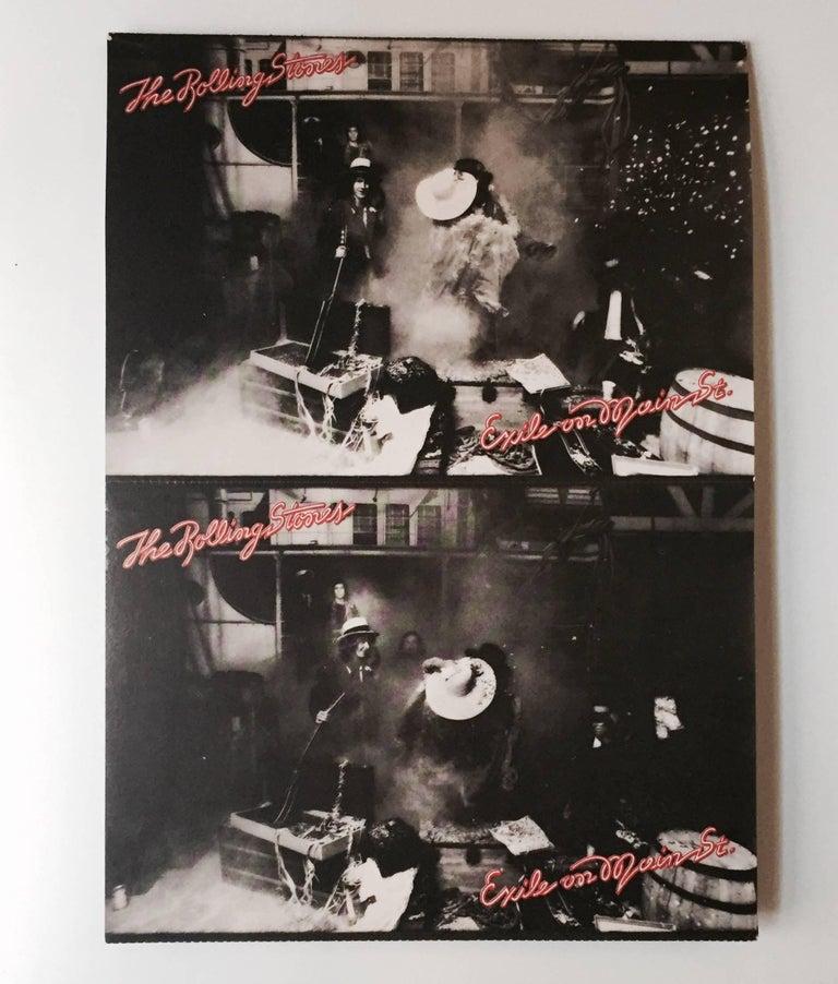 Original Rolling Stones Exile On Main Street Vinyl Record