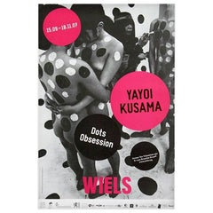 Yayoi Kusama Dots Exhibition Poster 'Kusama Dots Obsession'