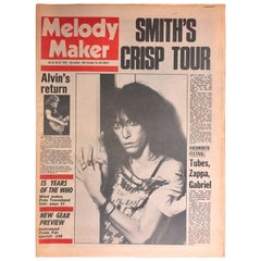 Vintage Patti Smith Melody Maker, 1978