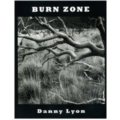 Signed Danny Lyon Photography Book 'Danny Lyon Burn Zone'
