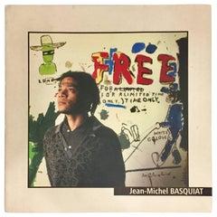 Vintage Basquiat Exhibition Catalog, 'Le Mans, France', 1999