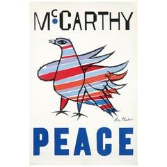 Ben Shahn McCarthy Peace, 1968