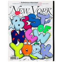 Kaws Cover Art 'New York Magazine 2009'
