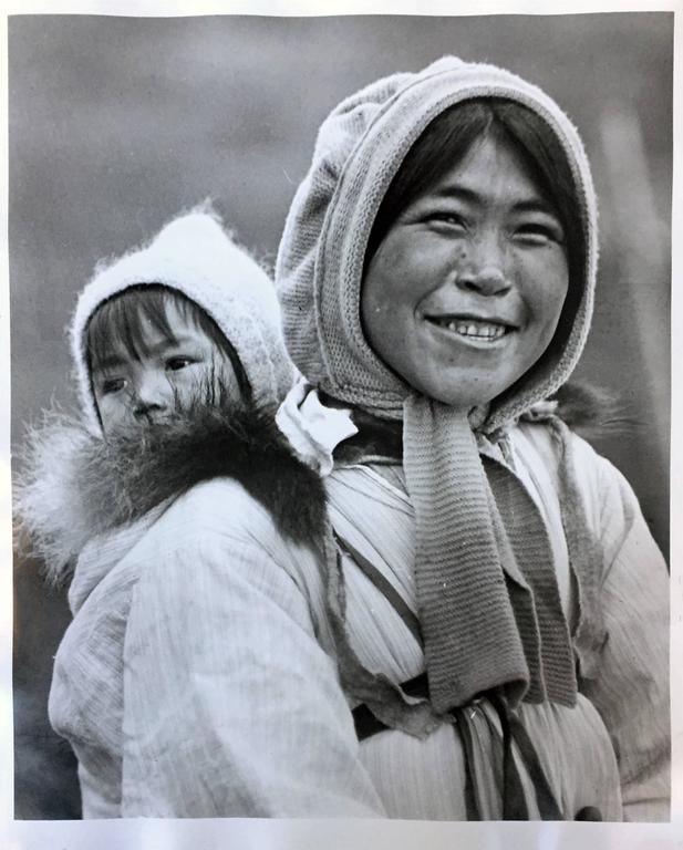 Eskimo Mother and Her Baby, Alaska 2