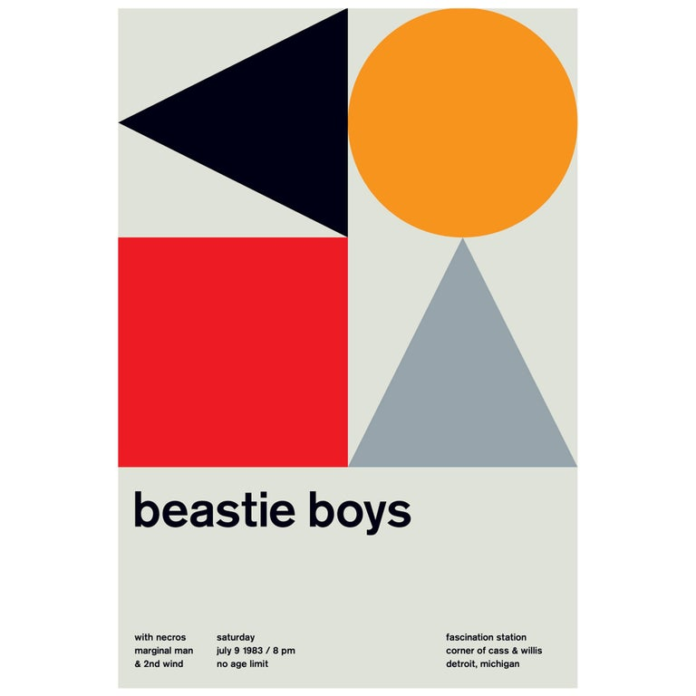 The Beastie Boys Limited Edition Design Print