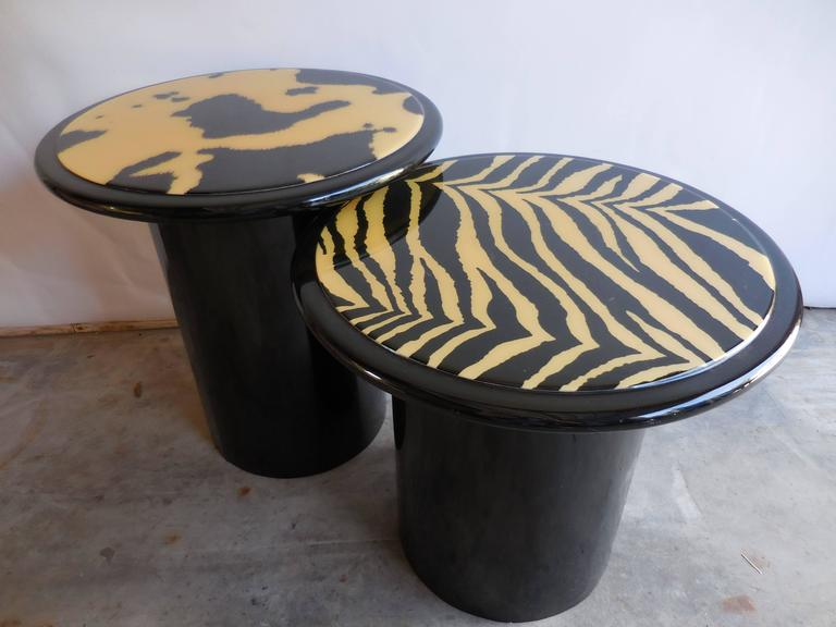 1960s Modern Lacquered Tables 2