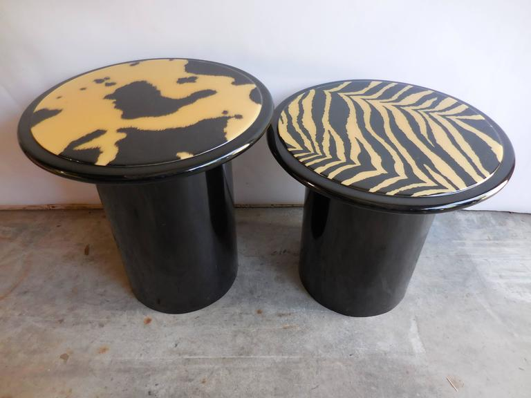 1960s Modern Lacquered Tables 3