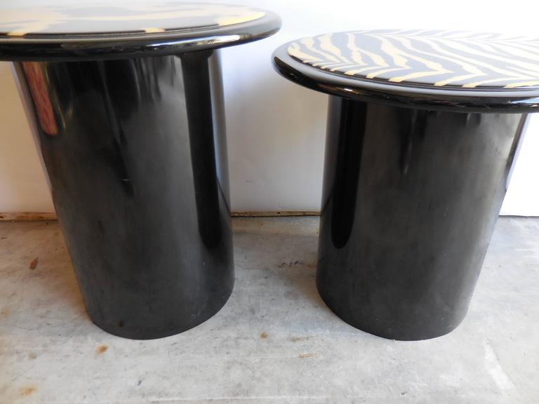 1960s Modern Lacquered Tables 6