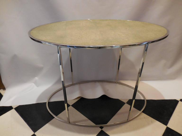 Theodore Alexander Shagreen Top Table 3
