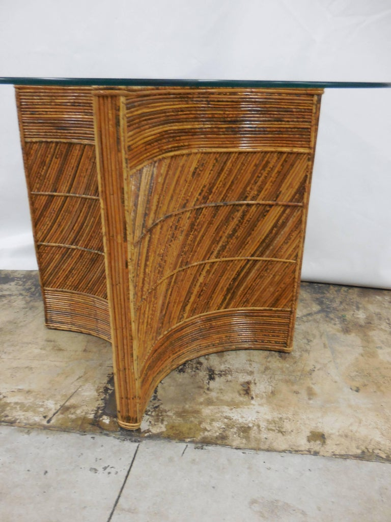 Vintage Bamboo Table 3