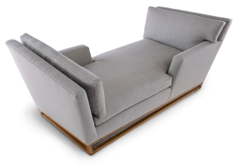 New Contemporary/Modern Handmade Tete A Tete Sofa, Wool Fabric . Design