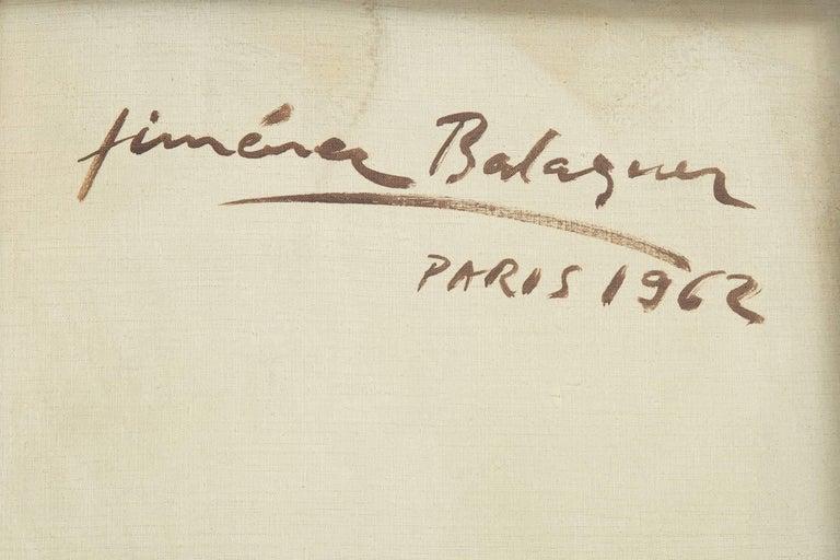 20th Century Laurent Jimenez-BalaguerSculptural Painting, 1962 For Sale