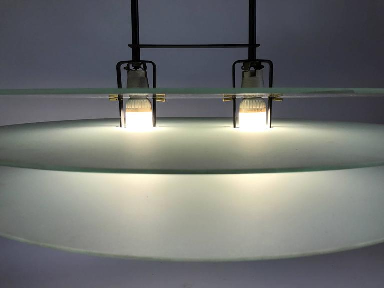 Chandelier by mario barbaglia and marco colombo for paf studio chandelier by mario barbaglia and marco colombo for paf studio milano in good condition for aloadofball Choice Image