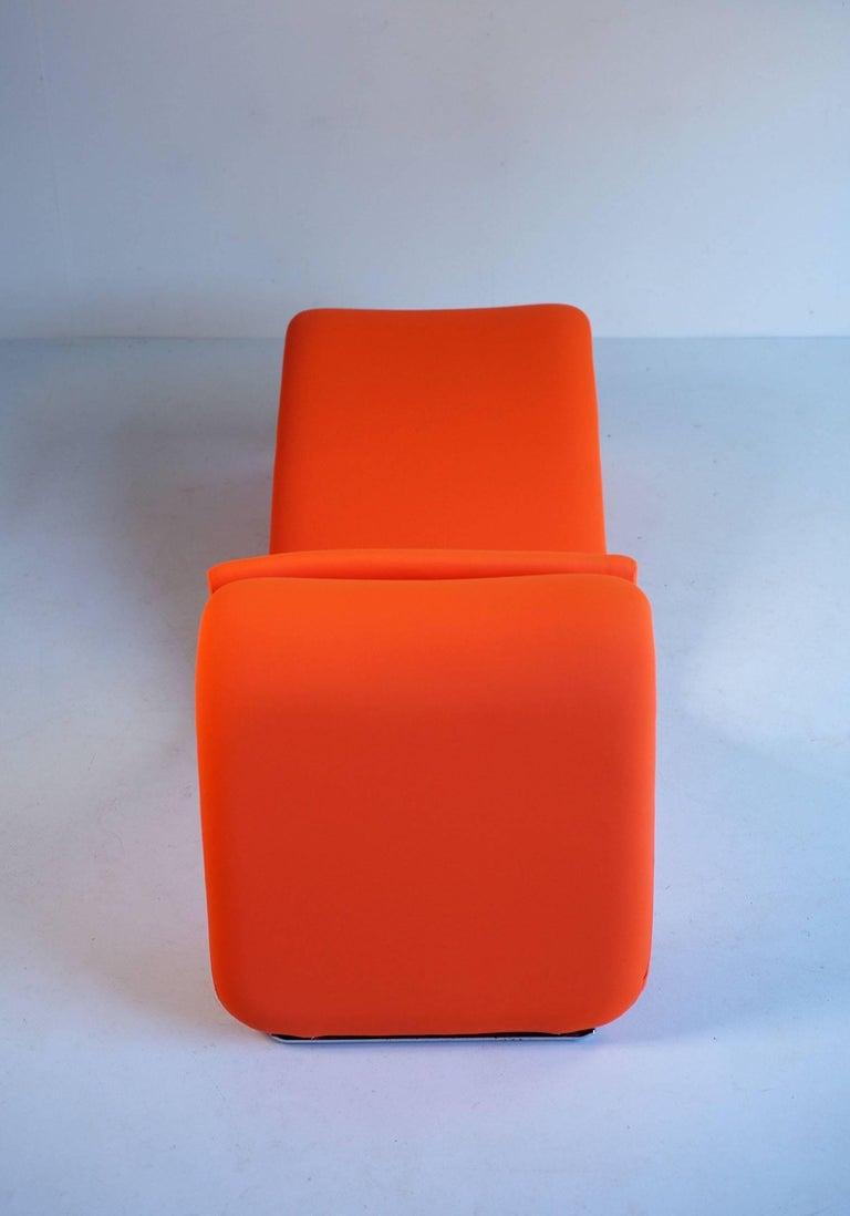 Mid-20th Century Djinn Lounge Chair, Model 8412 for Airborne International, France, 1965