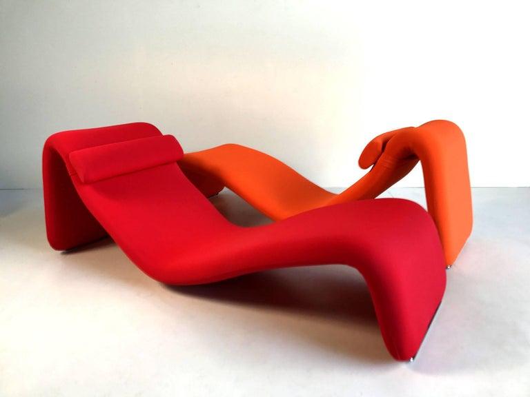 Djinn Lounge Chair, Model 8412 for Airborne International, France, 1965 1