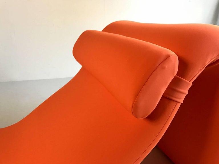 Mid-Century Modern Djinn Lounge Chair, Model 8412 for Airborne International, France, 1965