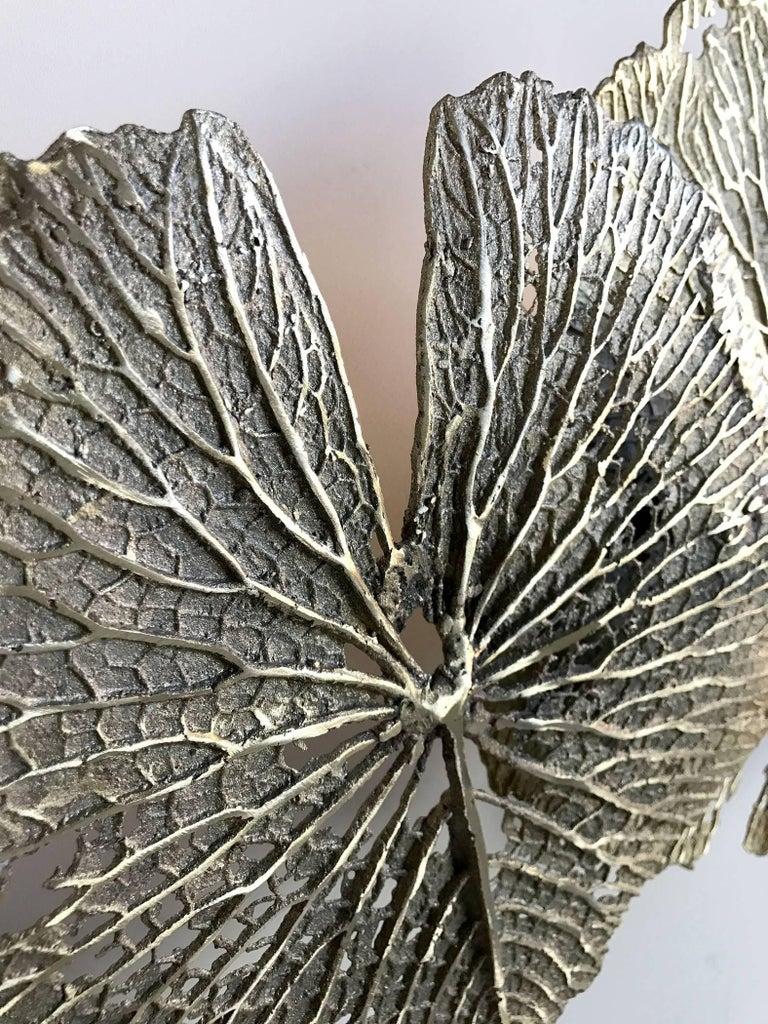 Modern Bronze Wall Sculpture by Oak, France, 2015 For Sale