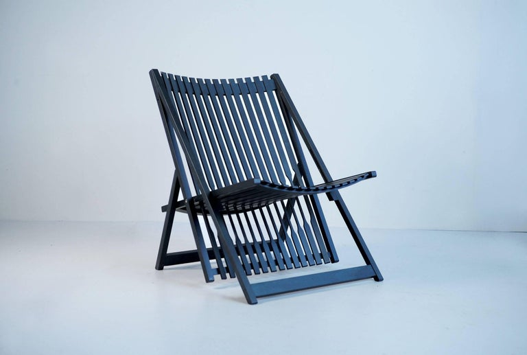 French Jean-Claude Duboys, Pair of A1 Armchairs, France, 1980 For Sale
