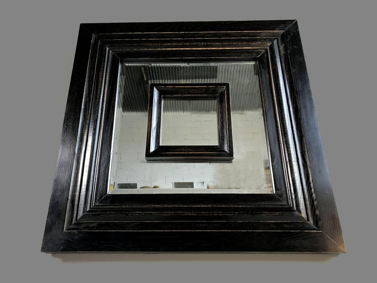 French Prototype no 0 of Philippe Delzers' Flamand mirror for Etitis, France 2006 For Sale
