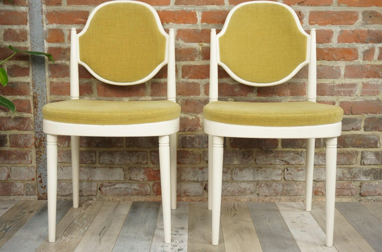Austrian Pair of Bentwood Thonet Chairs Design Hanno Von Gustedt For Sale
