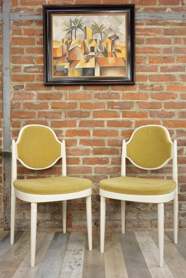 Pair of Bentwood Thonet Chairs Design Hanno Von Gustedt For Sale 3