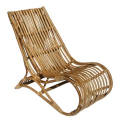 Design Rattan Lounge Armchair
