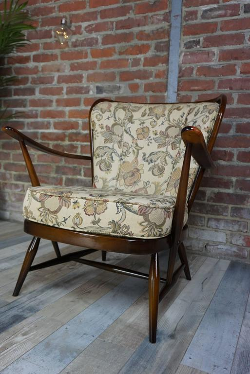 Genuine Armchair 1950s House Ercol With Cushions At 1stdibs
